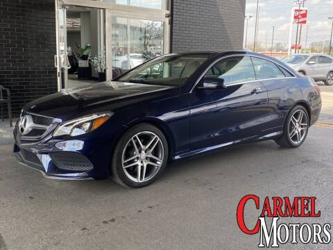 2016 Mercedes-Benz E-Class for sale at Carmel Motors in Indianapolis IN
