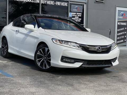 2017 Honda Accord for sale at CARUCARS LLC in Miami FL