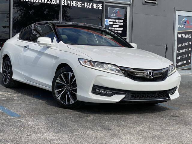 2017 Honda Accord for sale at CARUCARS LLC in Miami FL