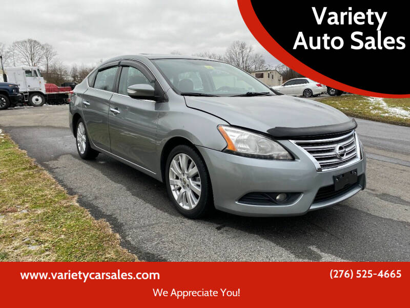 2013 Nissan Sentra for sale at Variety Auto Sales in Abingdon VA