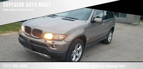 2005 BMW X5 for sale at SUPERIOR AUTO MART in Amelia OH
