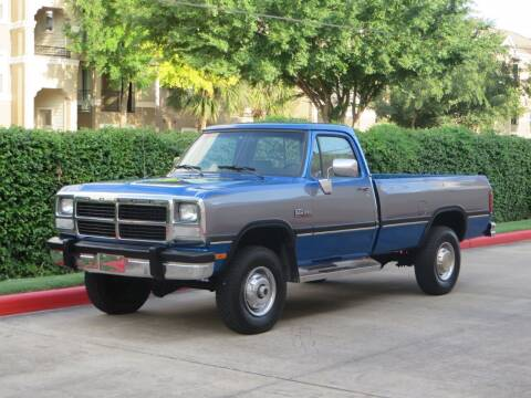 1991 Dodge RAM 250 for sale at RBP Automotive Inc. in Houston TX