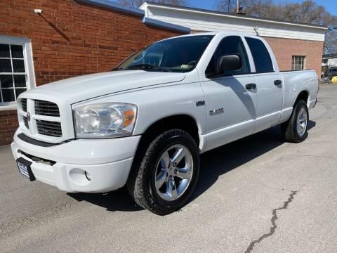 2008 Dodge Ram Pickup 1500 for sale at SETTLE'S CARS & TRUCKS in Flint Hill VA