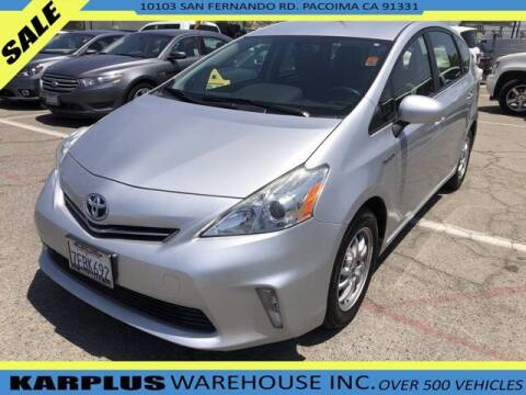 2014 Toyota Prius v for sale at Karplus Warehouse in Pacoima CA
