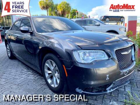 2015 Chrysler 300 for sale at Auto Max in Hollywood FL