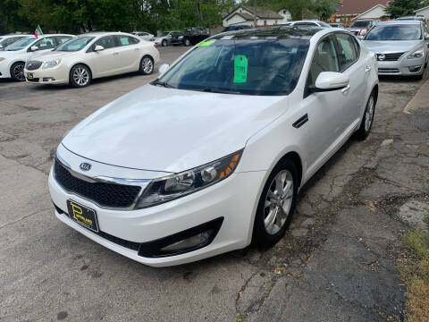 2012 Kia Optima for sale at PAPERLAND MOTORS - Fresh Inventory in Green Bay WI