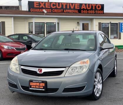 2007 Saturn Aura for sale at Executive Auto in Winchester VA