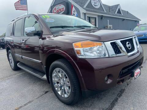 2015 Nissan Armada for sale at Cape Cod Carz in Hyannis MA