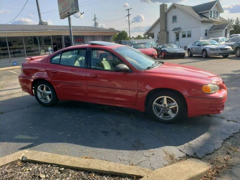 2004 Pontiac Grand Am for sale at Sportscar Group INC in Moraine OH