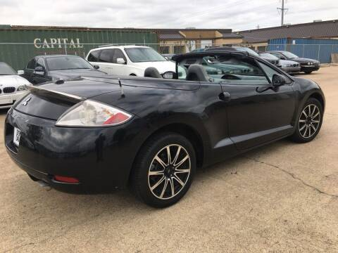 2008 Mitsubishi Eclipse Spyder for sale at TETCO AUTO SALES  / TETCO FUNDING in Dallas TX