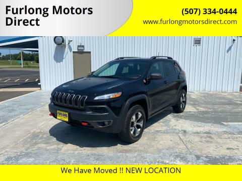 2016 Jeep Cherokee for sale at Furlong Motors Direct in Faribault MN