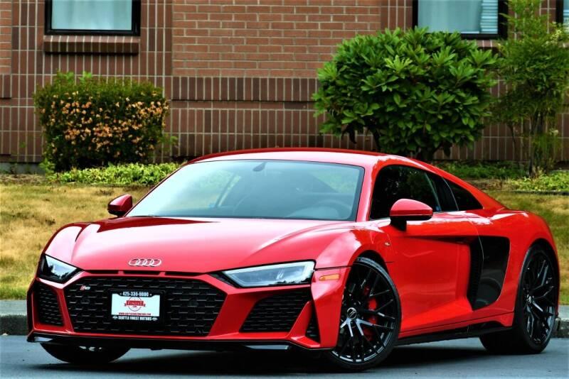 2020 Audi R8 for sale at SEATTLE FINEST MOTORS in Lynnwood WA