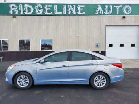 2011 Hyundai Sonata for sale at RIDGELINE AUTO in Chubbuck ID
