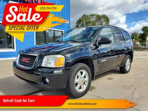 2004 GMC Envoy for sale at Detroit Cash for Cars in Warren MI