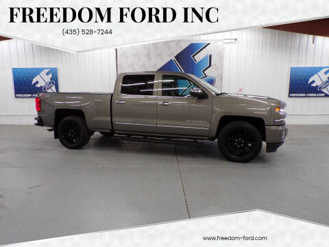 2017 Chevrolet Silverado 1500 for sale at Freedom Ford Inc in Gunnison UT
