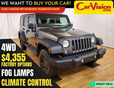 2018 Jeep Wrangler JK Unlimited for sale at Car Vision Mitsubishi Norristown in Trooper PA
