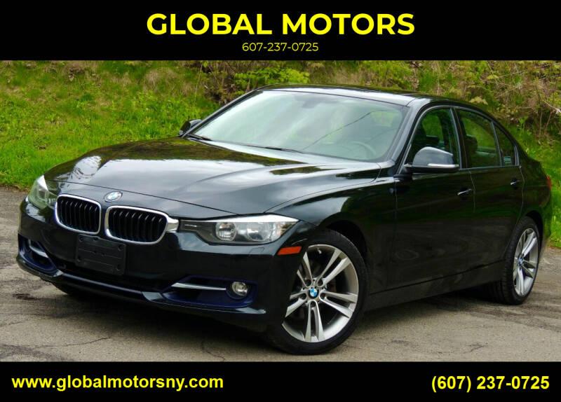 2013 BMW 3 Series for sale at GLOBAL MOTORS in Binghamton NY