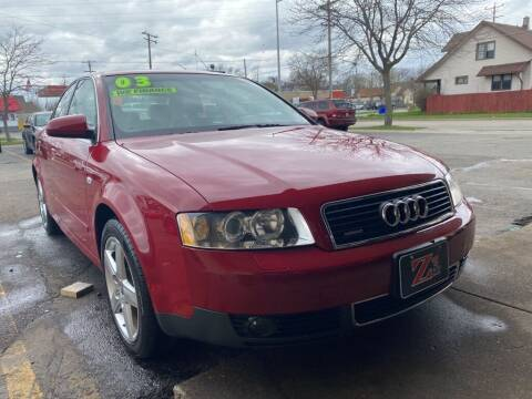 2003 Audi A4 for sale at Zs Auto Sales in Kenosha WI