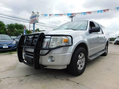 2010 Ford Expedition EL for sale at AMD AUTO in San Antonio TX