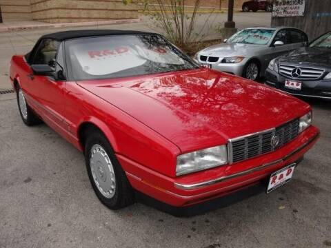 1991 Cadillac Allante for sale at R & D Motors in Austin TX