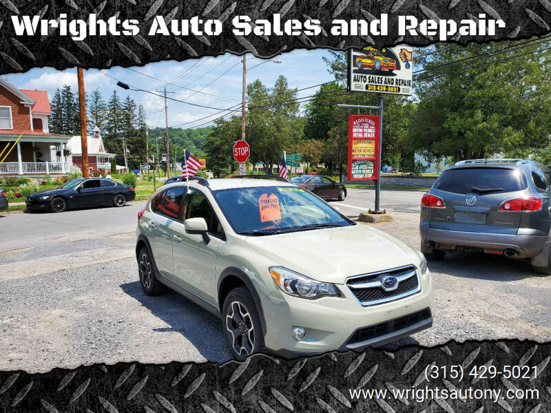 2014 Subaru XV Crosstrek for sale at Wrights Auto Sales and Repair in Dolgeville NY