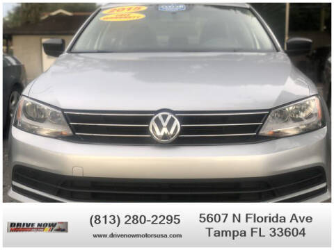 2015 Volkswagen Jetta for sale at Drive Now Motors USA in Tampa FL