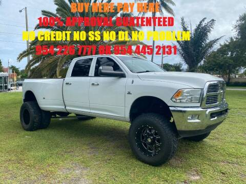 2010 RAM Ram Pickup 3500 for sale at Transcontinental Car USA Corp in Fort Lauderdale FL