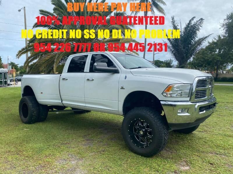2010 RAM Ram Pickup 3500 for sale in Fort Lauderdale, FL