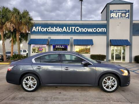 2012 Nissan Maxima for sale at Affordable Autos in Houma LA