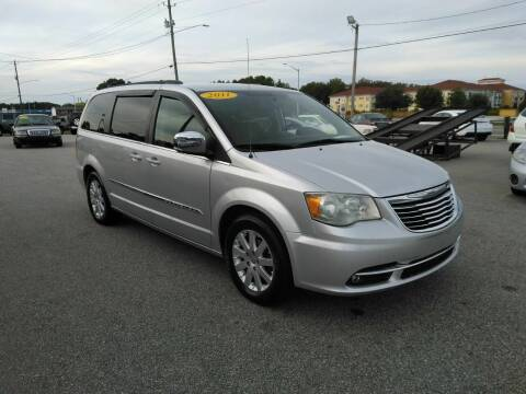 2011 Chrysler Town and Country for sale at Kelly & Kelly Supermarket of Cars in Fayetteville NC