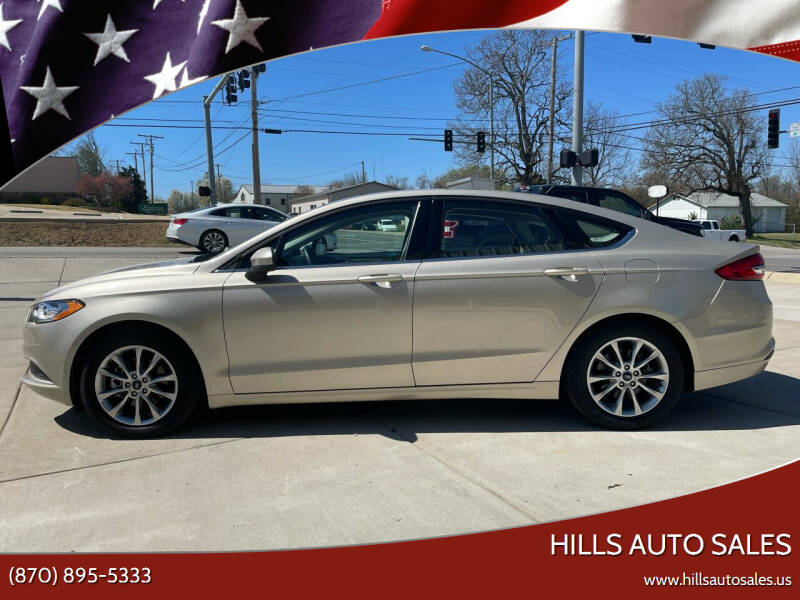 2017 Ford Fusion for sale at Hills Auto Sales in Salem AR