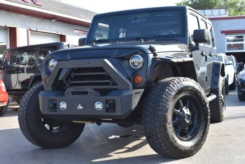 2010 Jeep Wrangler Unlimited for sale at Chicago Cars US in Summit IL