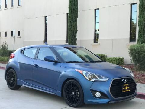 2016 Hyundai Veloster Turbo for sale at Auto King in Roseville CA