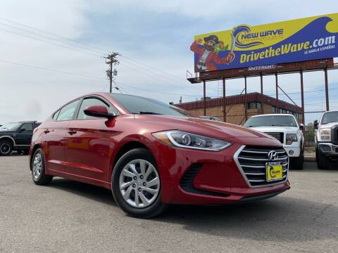 2018 Hyundai Elantra for sale at New Wave Auto Brokers & Sales in Denver CO