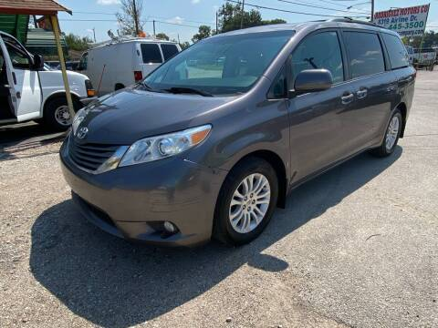 2011 Toyota Sienna for sale at RODRIGUEZ MOTORS CO. in Houston TX