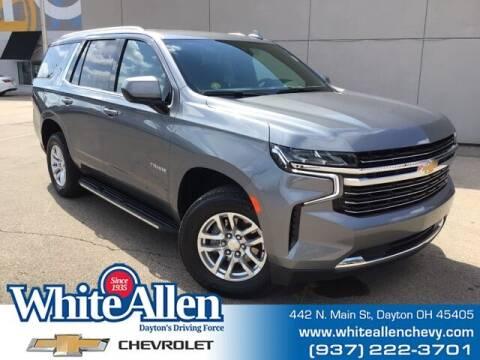 2021 Chevrolet Tahoe for sale at WHITE-ALLEN CHEVROLET in Dayton OH
