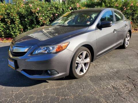 2013 Acura ILX for sale at ALL CREDIT AUTO SALES in San Jose CA