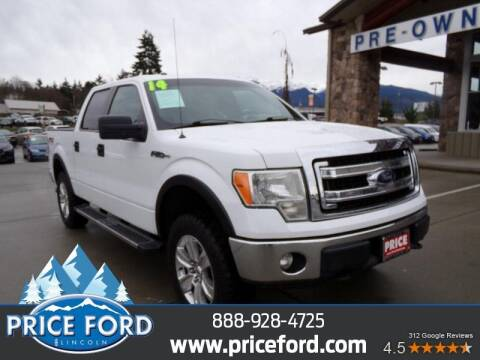 2014 Ford F-150 for sale at Price Ford Lincoln in Port Angeles WA