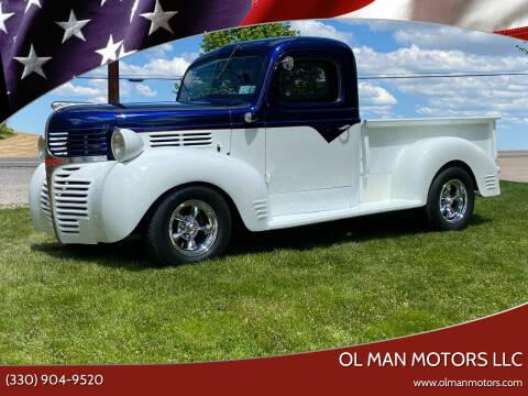 1947 Dodge D100 Pickup for sale at Ol Man Motors LLC in Louisville OH
