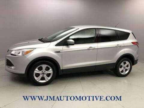 2015 Ford Escape for sale at J & M Automotive in Naugatuck CT