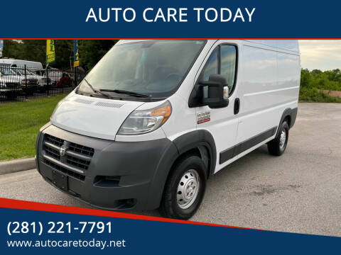 2015 RAM ProMaster Cargo for sale at AUTO CARE TODAY in Spring TX