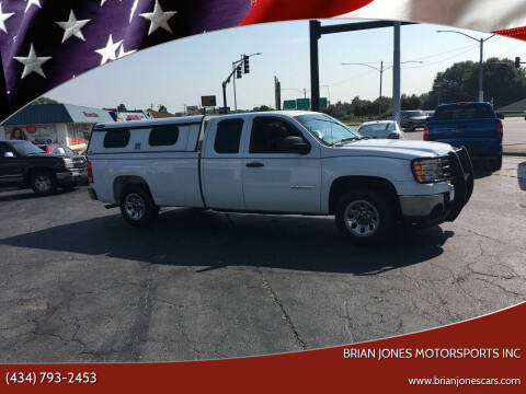 2011 GMC Sierra 1500 for sale at Brian Jones Motorsports Inc in Danville VA
