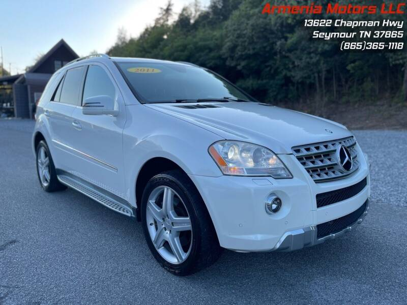 2011 Mercedes-Benz M-Class for sale at Armenia Motors in Seymour TN