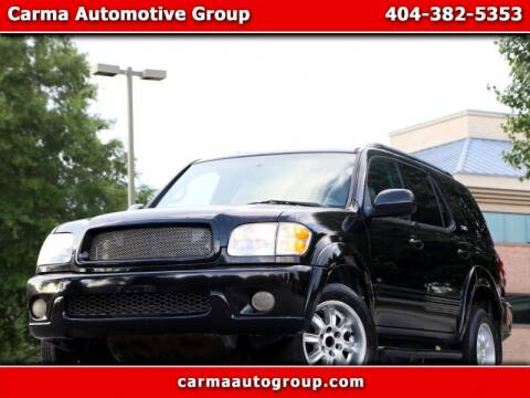 2003 Toyota Sequoia for sale at Carma Auto Group in Duluth GA
