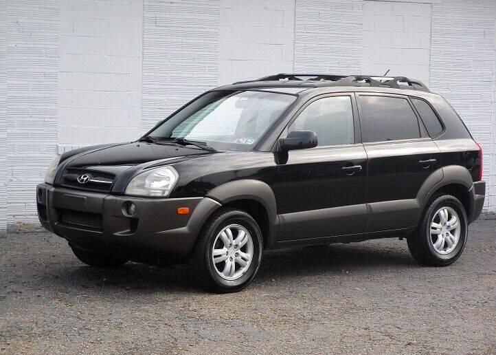 2006 Hyundai Tucson for sale at Kohmann Motors & Mowers in Minerva OH