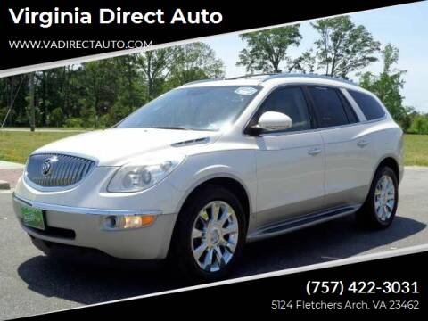 2010 Buick Enclave for sale at Virginia Direct Auto in Virginia Beach VA
