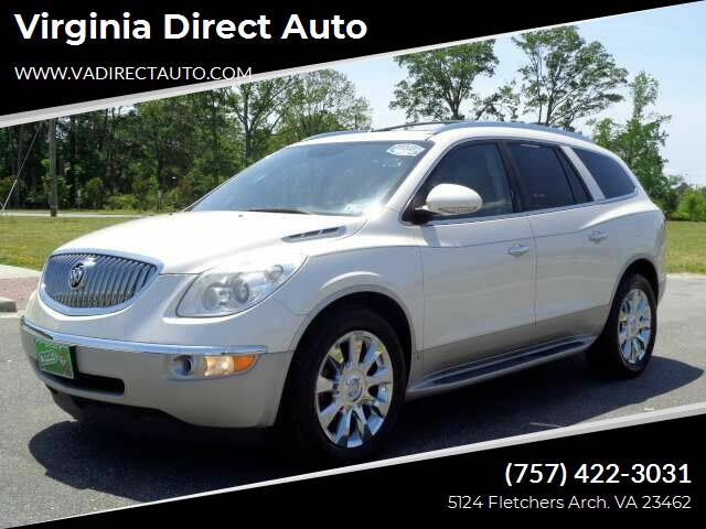 2010 Buick Enclave for sale at Virginia Direct Auto in Virginia Beach VA