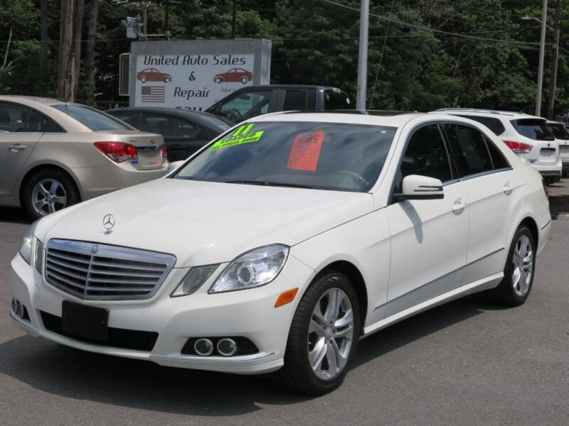 2011 Mercedes-Benz E-Class for sale at United Auto Service in Leominster MA
