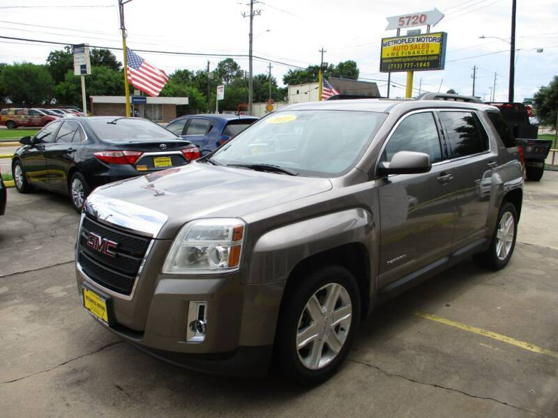 2011 GMC Terrain for sale at Metroplex Motors Inc. in Houston TX
