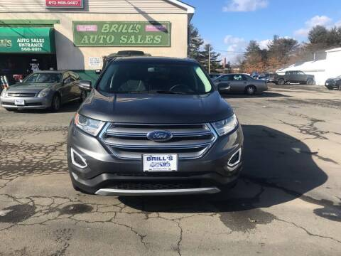 2018 Ford Edge for sale at Brill's Auto Sales in Westfield MA